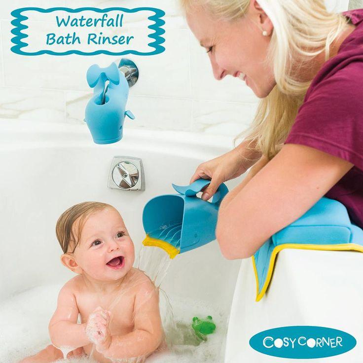 Skip Hop Κύπελλο Λουσίματος - Ένας έξυπνος τρόπος για να κρατάτε το νερό και το σαμπουάν μακριά από τα μάτια και το πρόσωπο του παιδιού. http://goo.gl/HgO3pW