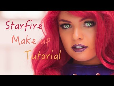 Starfire Makeup Tutorial - YouTube