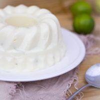 Braziliaanse kokos limoen pudding recept