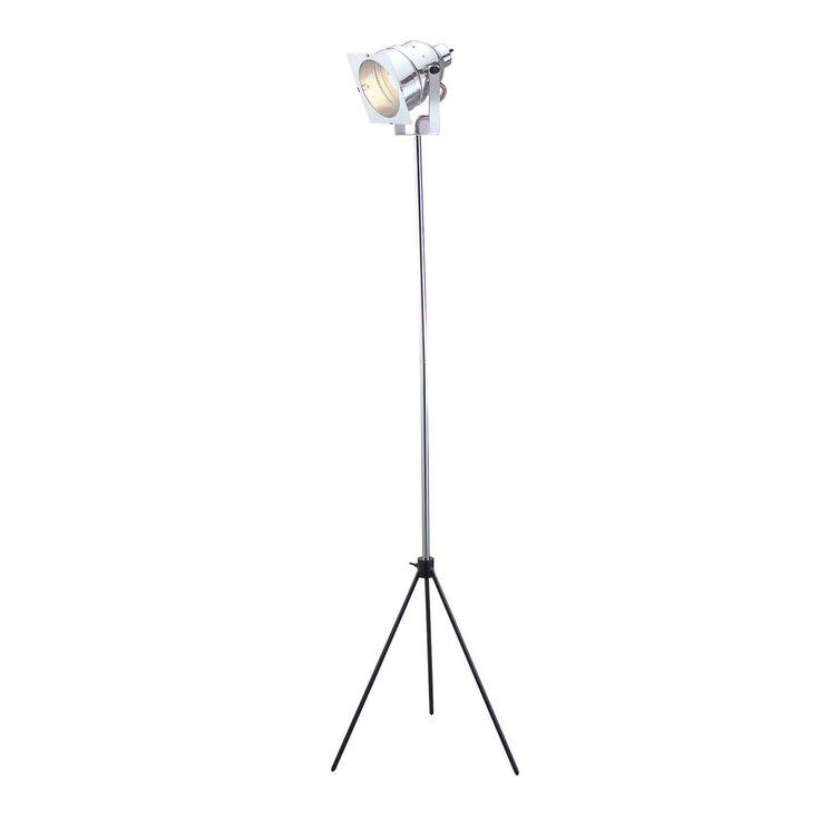 Adesso Lighting 3051-22 Spotlight Floor Lamp, Steel at ATG Stores