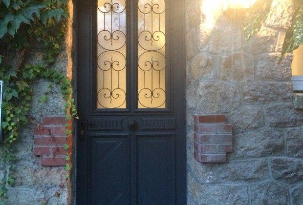 17 meilleures id es propos de portes d 39 entr e noir sur pinterest portes d 39 entr e portes - Porte exterieure lapeyre ...
