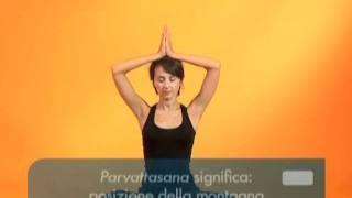 Yoga contro il mal di schiena. Esercizi - Parte 3, via YouTube.