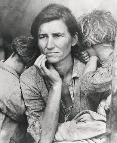 "Dorothea Lange, ""From the Resettlement Administration"" (1936, 1971)"