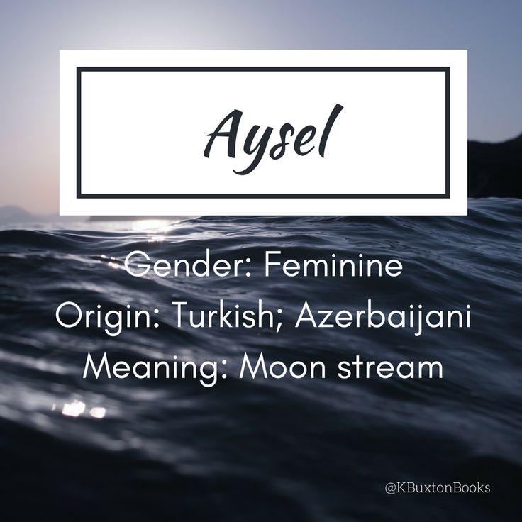 Aysel - girl's name
