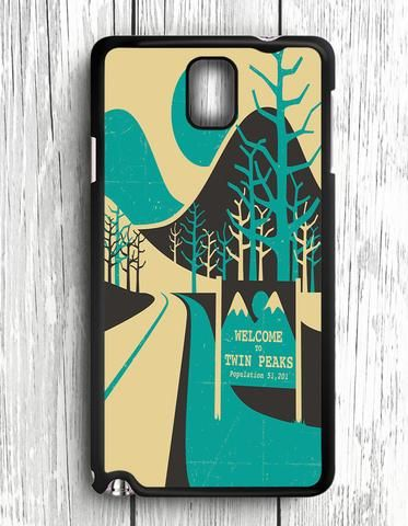 Wellcome To Twin Peaks Samsung Galaxy Note 3 Case