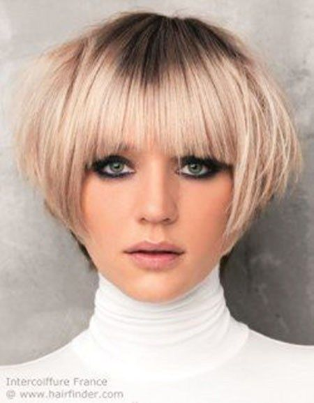 25 Top Hairstyles For Bob Haircuts With Bangs Hair And Beauty