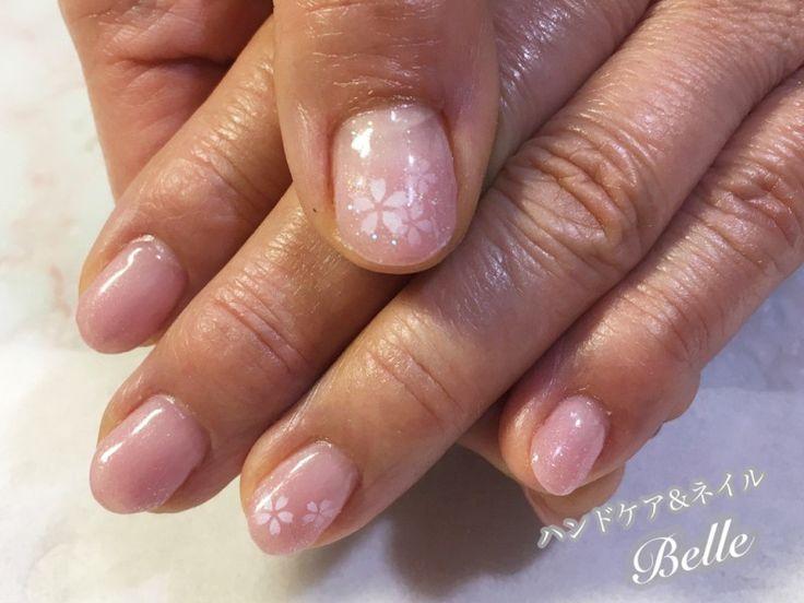 ふんわり桜ネイル | 刈谷市のネイルサロン『ハンドケア&ネイル Belle』の気まぐれブログ