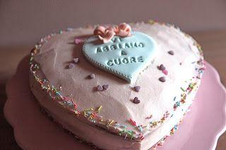 Una torta a forma di cuore | Il Laboratorio delle Torte