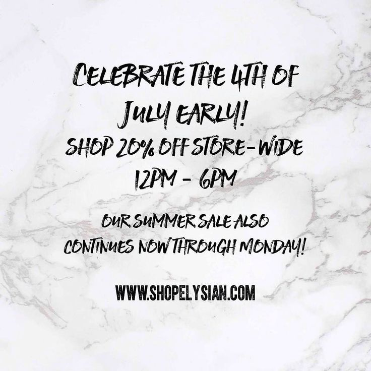 Surprise!!!  We have even more good news! Today the store is 20% off now till close! New items excluded. Not valid on previous purchases. All sales final.  #WearElysianDaily #Summer #Sale #shoplocal #downtownbentonville http://ift.tt/2sdueSU Surprise!!!  We have even more good news! Today the store is 20% off now till close! New items excluded. Not valid on previous purchases. All sales final.  #WearElysianDaily #Summer #Sale #shoplocal #downtownbentonville