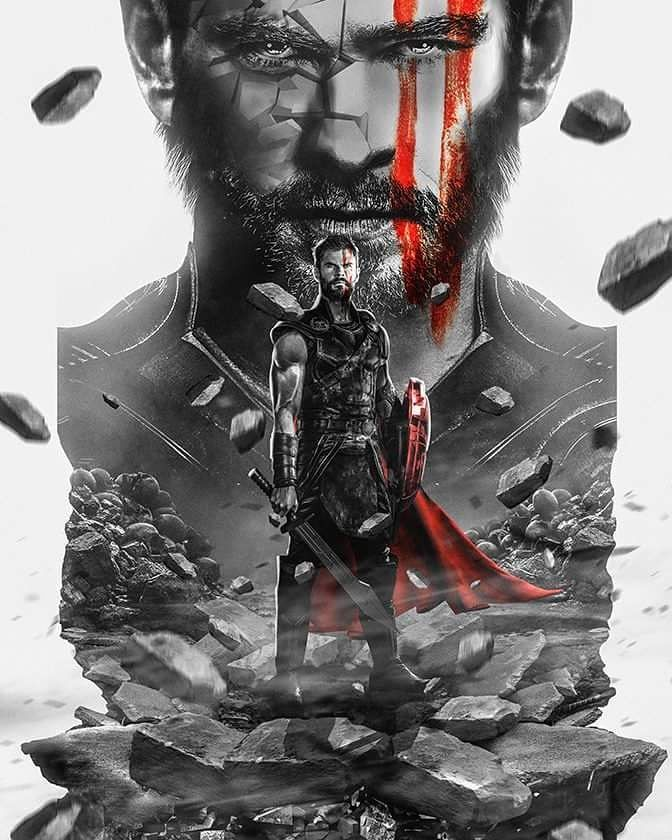 "13 Likes, 2 Comments - The Comic Watch Tower (@thecomicwatchtower) on Instagram: ""@bosslogic with another awesome piece. Thor Ragnorak around the corner.... #thor #thorragnorak…"""