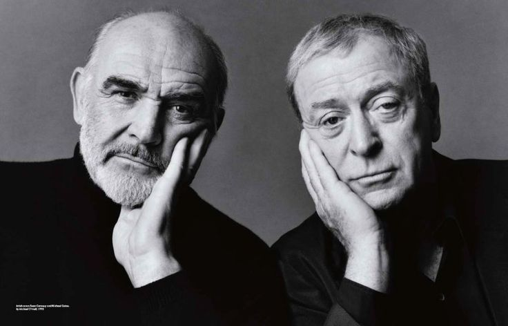 Sean Connery and Michael Caine