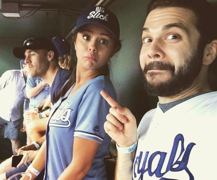 James van der Beek, Selena Gomez and Samm Levine