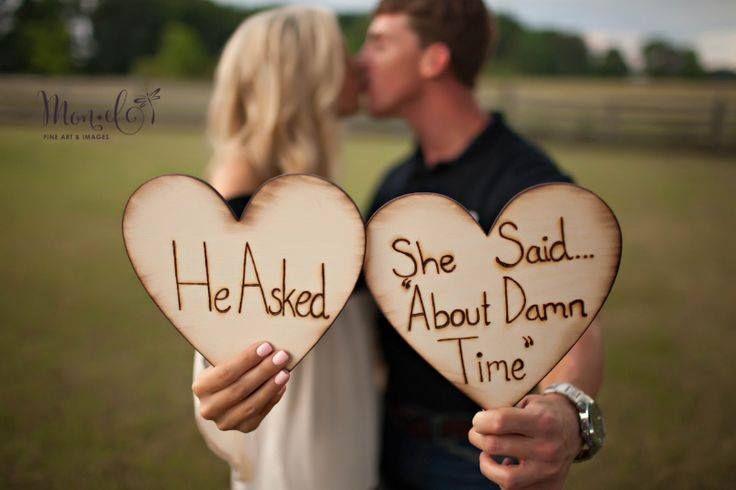 Leuke aankondiging verloving