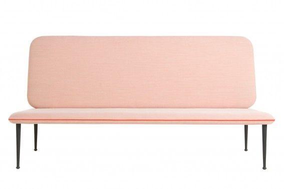 The Ritz roze bank vrijstaand