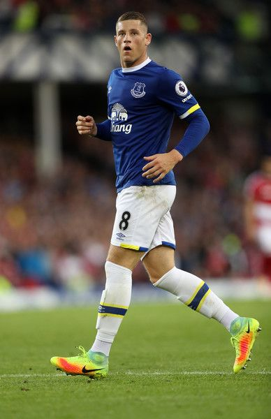 Ross Barkley of Everton during the Premier League match between Everton and…