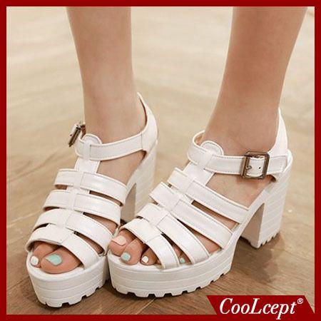 Дамы лодыжки ремень peep toe высокий каблук сандалии сексуальная платформы женщин вырез бренд каблуках обувь туфли на каблуках размер 34-43 P18083