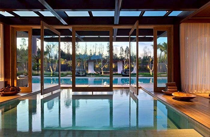Luxurious Casa Nova Lima with Dramatic Landscape Compositions casa nova lima swimming pool