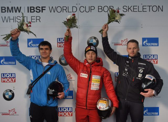 IBSF World Cup: Sungbin Yun wins title with a track record in Whistler- http://www.sportscrunch.in/ibsf-world-cup-sungbin-yun-wins-title-track-record-whistler/  #IBSFWorldCup, #MensSkeleton, #Whistler  #BobsleighandSkeleton