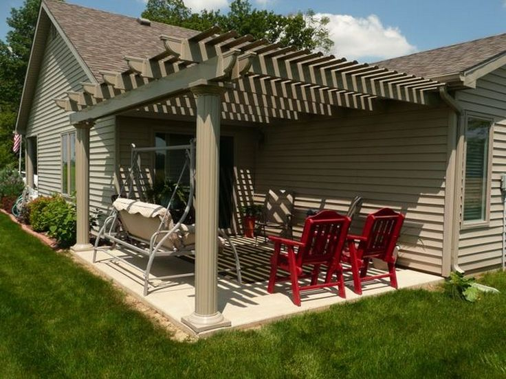 Diy Pergola Attached To House Projects To Try Pergola