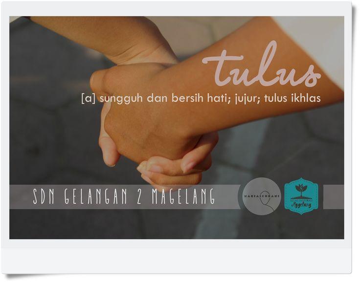 """Tulus""  Word in KBBI November, 2015"