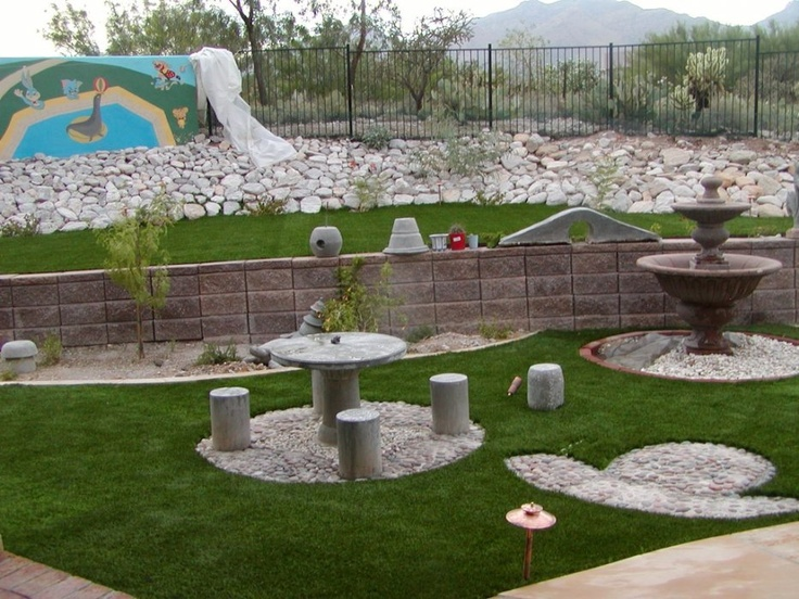 Best Landscaping Images On Pinterest Landscaping Ideas - The art of a small yard landscape
