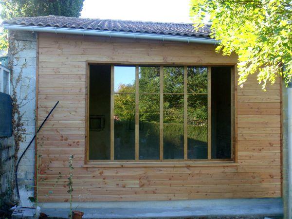 54 best extension sur l vation bois images on pinterest for Constructeur maison niort