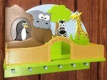 FLoPHi Garderobe mit Ablage, Zoo