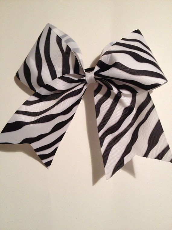how to put a cheer bow in facing the back