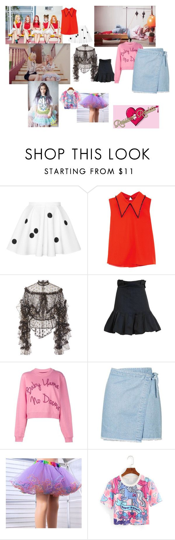 """""""Pastel"""" by mandalinaqitrydewi on Polyvore featuring McQ by Alexander McQueen, Rodarte, E L L E R Y, House of Holland and Topshop"""