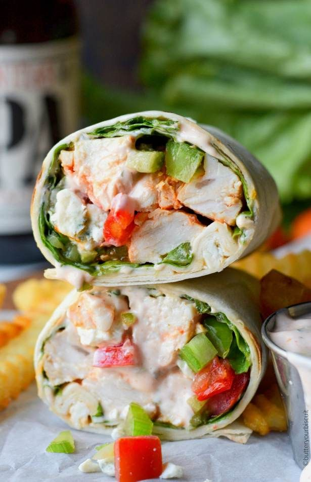 Looking for an easy lunch? These Buffalo Chicken wraps can be ready to eat in less than 30 minutes. Serve warm or chilled, and perfect anytime of the year! These Buffalo Chicken Wraps are hands down one of the best wraps I've ever had. They come together really fast, and are loaded with chicken, crisp...Read More »