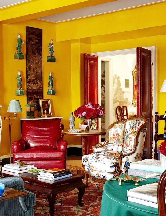 Miles Redd design. 285 best Color  Yellow Rooms I Love images on Pinterest   Yellow
