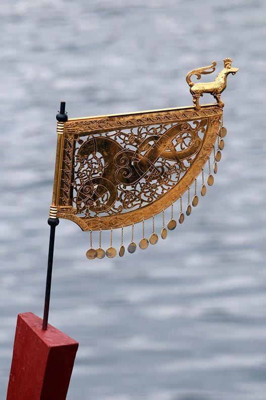 Weather vane replica in Vikingeskibsmuseet i Roskilde