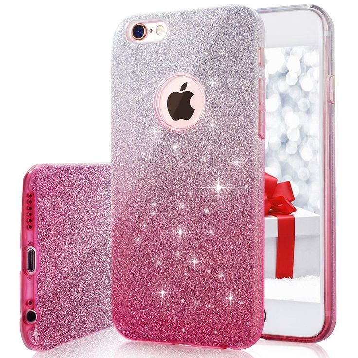 Iphone 6s Plus 6 Plus Case Milprox Bling Glitter Pretty Sparkle 3 Layer Hyb Ebay Glitter Phone Cases Iphone Glitter Iphone