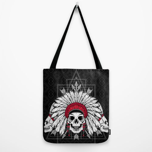 Southern Death Cult Tote Bag by chobopop | Society6