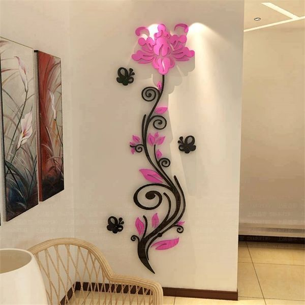 1000 ideias sobre parede de vinil adesivos no pinterest for Decoration porte 3d