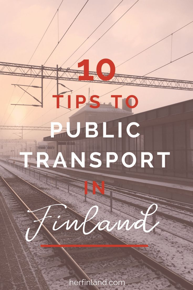 Finland trains and buses are so easy to use! This article offers you tips about timetables, tickets and cultural details.