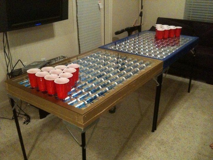 Beer Pong Tables Ideas beer pong table (: on pinterest beer pong ...