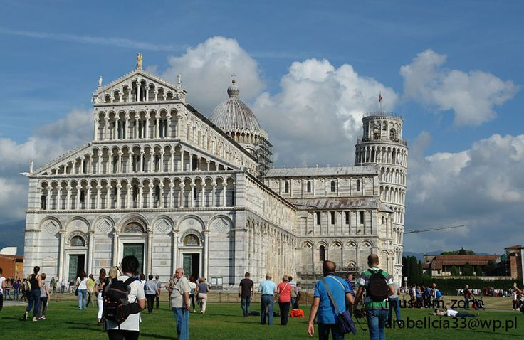 Miralce field in Pisa/ Pole cudów w Pizie