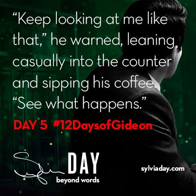 On the fifth day of Gideon my lover said to me…#12DaysofGideon