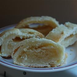 "Banket--""This is a recipe from the Netherlands that is a great tasting pastry using almond paste. Enjoy!"""
