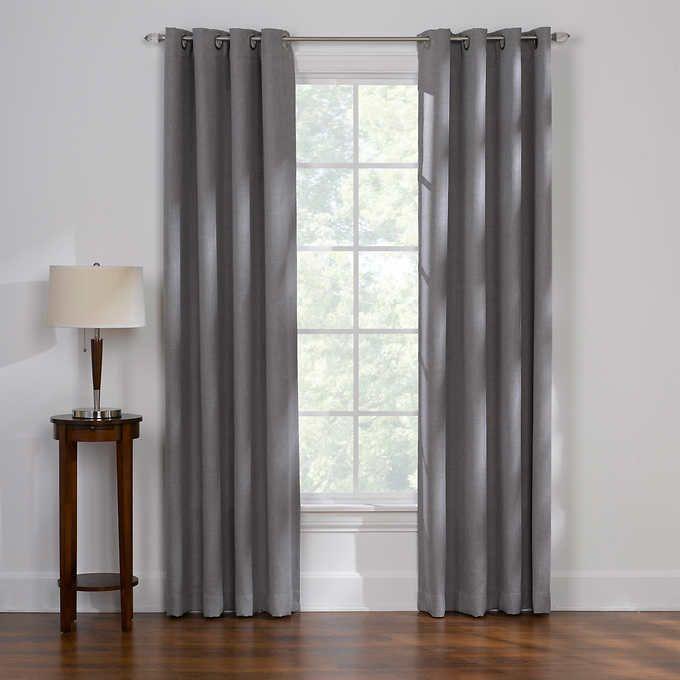 Thermal Balance Room Darkening Curtains 2 Pack Room Darkening