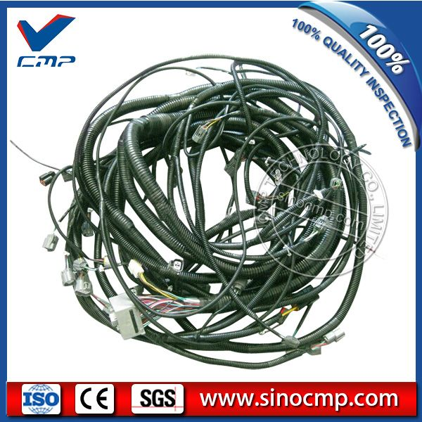 Excavator Complete External And Inner Wire Harness Cable For Kobelco Sk200 8 Replacement Parts Excavator Wire
