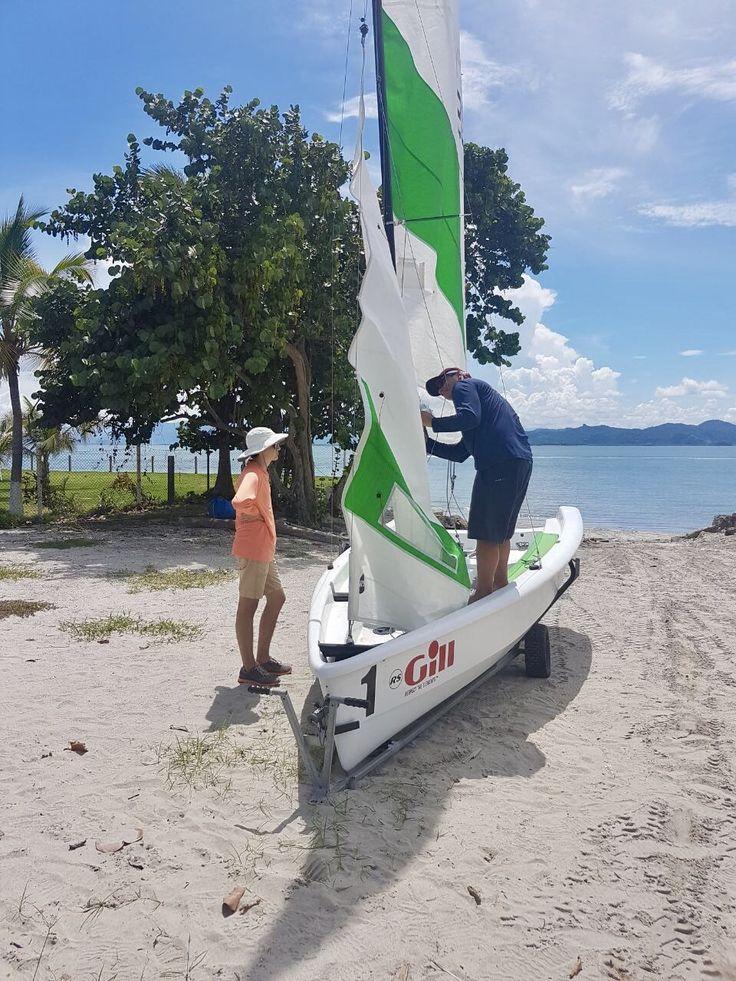 Punta Chame Panama sailing