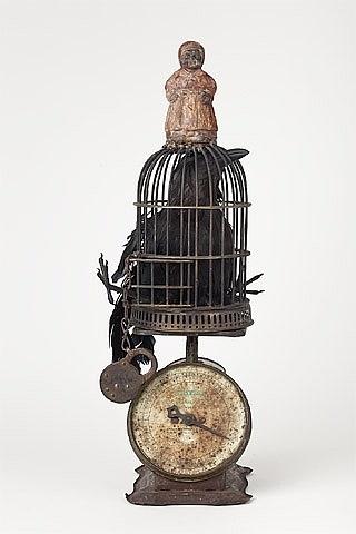 Betye Saar - I have everything but the bird, very inspiring idea