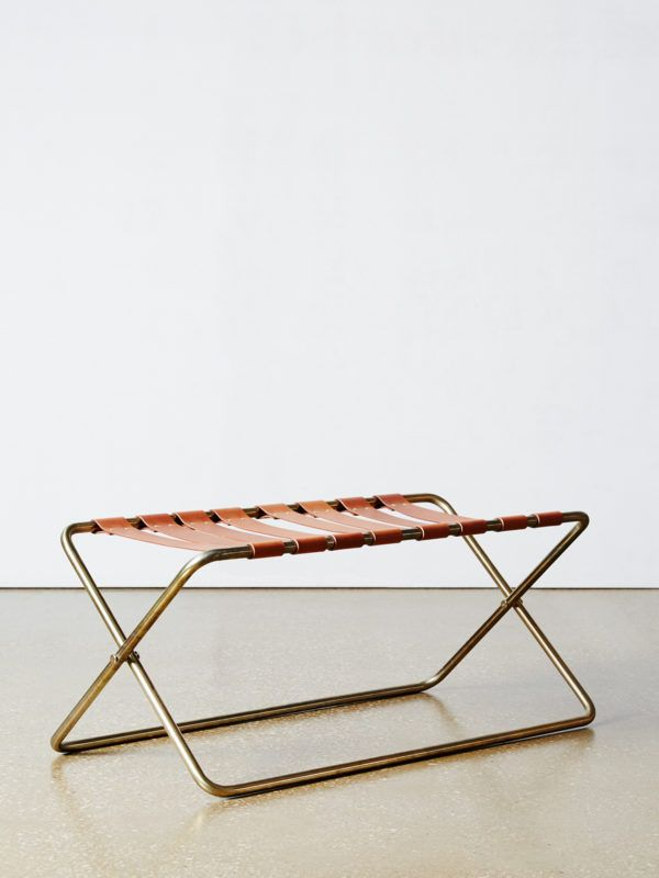 Guest Room Luggage Rack::: Kate Dinon Of Commissioned Editions. Photo U2013  Annette Ou0027Brien For The Design Files.