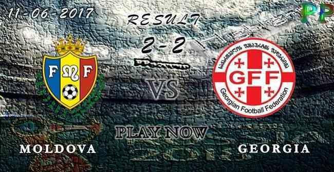 Moldova 2 - 2 Georgia HIGHLIGHTS 11.06.2017