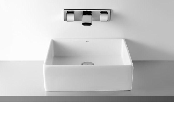 Umywalka nablatowa SOFIA z systemem MAXICLEAN
