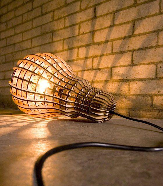 Amazing wooden lamps stadium creative