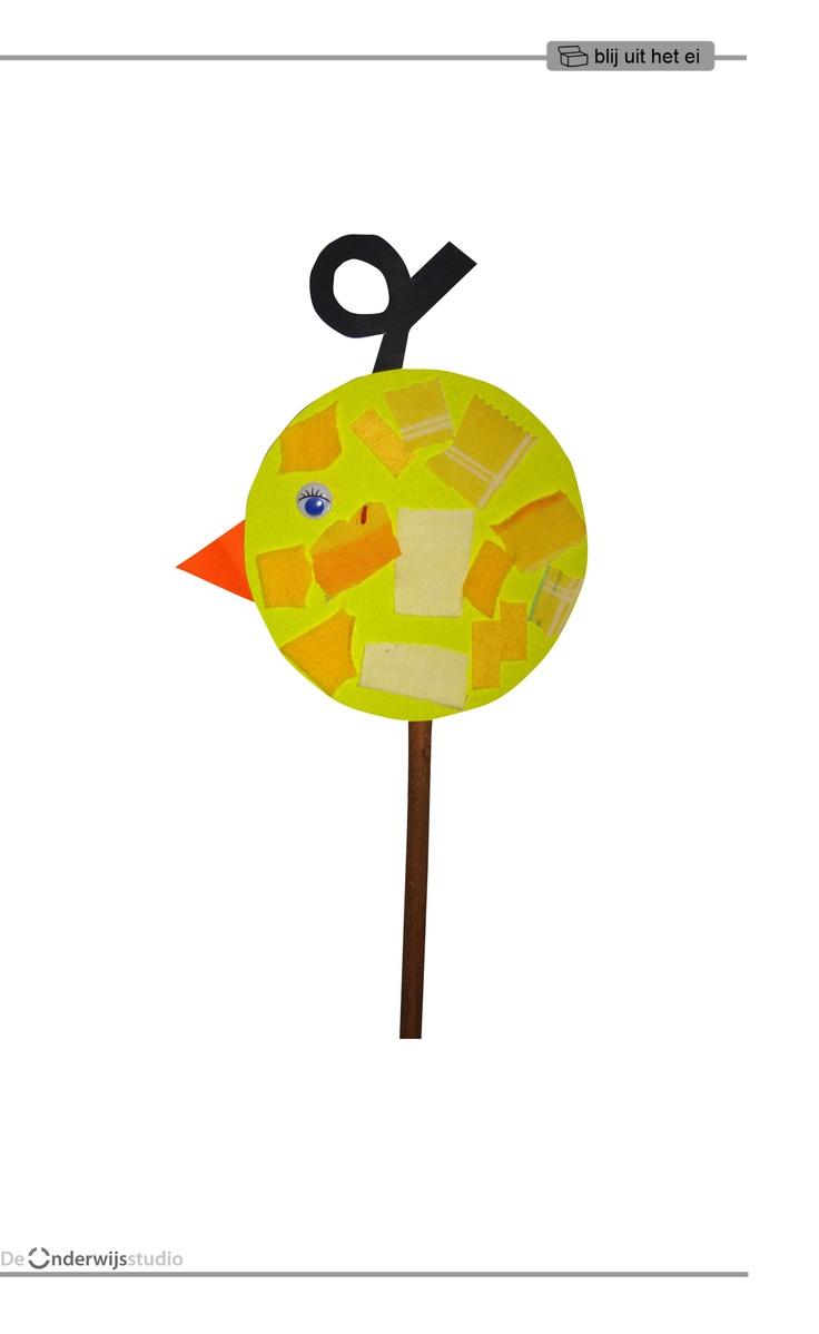 Blij uit het ei - Kuiken http://onderwijsstudio.nl/product/a4-flipboek-blij-uit-het-ei/