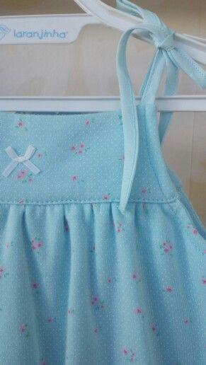 Body vestido de Laranjinha,  en Living Baby.